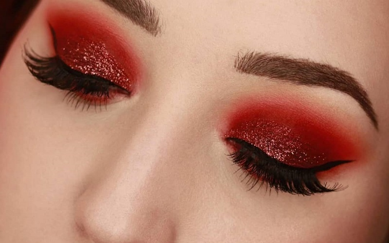 Tips to help you rock red eyeshadow like a pro